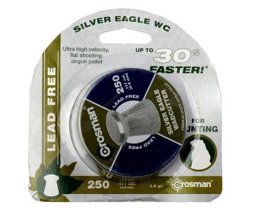 Пули Crosman Silver Eagle WC 4,5 мм, 0,31 грамм, 250 штук